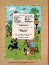 Verso de Tintin (Historique) -2B40- Tintin au Congo