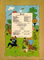 Verso de Tintin (Historique) -6B41- L'oreille cassée