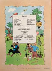 Verso de Tintin (Historique) -9B41- Le crabe aux pinces d'or