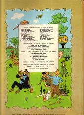 Verso de Tintin (Historique) -15B40- Tintin au pays de l'or noir