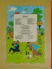 Verso de Tintin (Historique) -22B42- Vol 714 pour Sydney