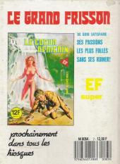 Verso de Série blanche (Elvifrance) -7- Comédie sanglante