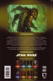 Verso de Star Wars - Legacy -8- Monstre