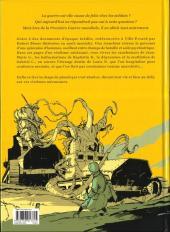 Verso de Vies tranchées - Les Soldats Fous de la Grande Guerre