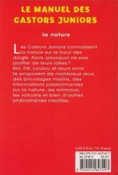 Verso de Manuel des Castors juniors (2e série) - La nature