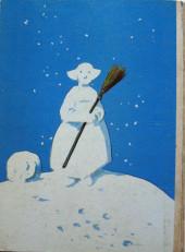 Verso de Bécassine -19a51- Bécassine dans la Neige