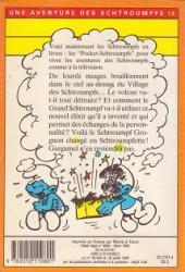 Verso de Les schtroumpfs (Hachette-Livre de poche) -13- Le ciel Schtroumpfe sur la tête !