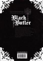 Verso de Black Butler -5- Black Sushiya