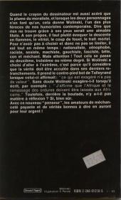 Verso de (AUT) Wolinski -3- Les Pensées