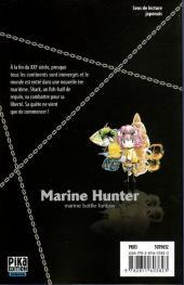 Verso de Marine Hunter -1- Vol. 1