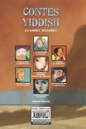 Verso de Contes du monde en bandes dessinées - Contes yiddish en bandes dessinées