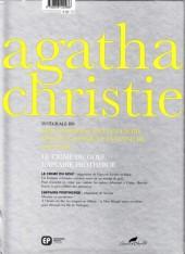 Verso de Agatha Christie - Intégrale BD -4- Les détectives