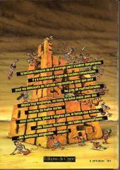 Verso de (AUT) Gotlib -5- Le Grand Livre des bides