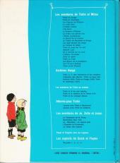 Verso de Quick et Flupke -3- (Casterman, couleurs) -REC4 - Recueil 4