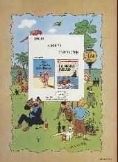 Verso de Tintin (en langues étrangères) -7Espéranto- La nigra insulo