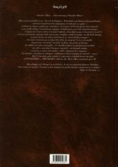 Verso de Reflets d'Acide -1- La Quête Sans Nom
