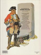 Verso de Barbe-Rouge -18b1983- Raid sur la Corne d'or