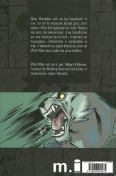Verso de Wolf-man -1- Tome 1