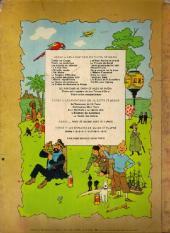 Verso de Tintin (Historique) -11B39- Le Secret de la Licorne