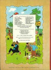 Verso de Tintin (Historique) -20B39- Tintin au Tibet