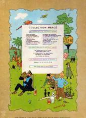 Verso de Tintin (Historique) -10B26- L'étoile mystérieuse