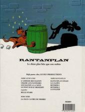 Verso de Rantanplan -7TT- Le fugitif