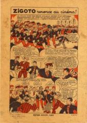 Verso de Zigoto -15- Zigoto et les pirates