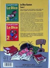 Verso de Gaston (Hors-série) - Le dico - Tome 1 : de A à J