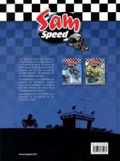 Verso de Sam Speed -3- L'Étoffe des Zéros