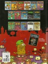 Verso de Kid Paddle -HS- Monsters