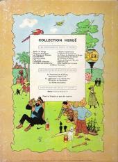 Verso de Tintin (Historique) -17B10- On a marché sur la lune