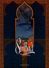 Verso de SinBad -1HC- Le Cratère d'Alexandrie