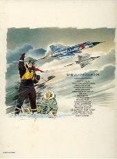 Verso de Tanguy et Laverdure -2d1978- Pour l'honneur des Cocardes