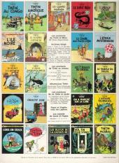 Verso de Tintin (Historique) -23C3- Tintin et les picaros