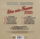 Verso de (AUT) Hugault - Michel Sardou - Être une femme 2010