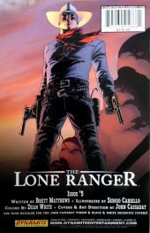 Verso de Lone Ranger Vol.1 (The) (Dynamite - 2006) -4- Issue # 4