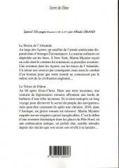 Verso de Martin Mystère -8- Le Destin de l'Atlantide - Le Trésor de Didon