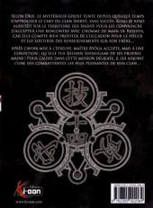 Verso de Kurokami Black God -14- Tome 14