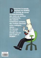 Verso de Dilbert (Albin Michel) -1- Les misères de la vie de bureau