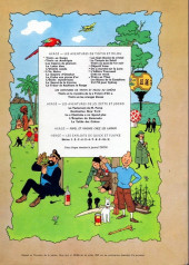 Verso de Tintin (Historique) -4B39- Les cigares du pharaon