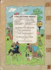 Verso de Tintin (Historique) -9B13- Le crabe aux pinces d'or