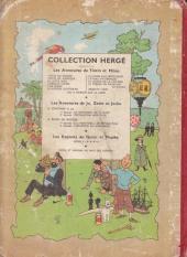 Verso de Tintin (Historique) -11B11- Le Secret de la Licorne