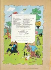 Verso de Tintin (Historique) -10B35- L'étoile mystérieuse