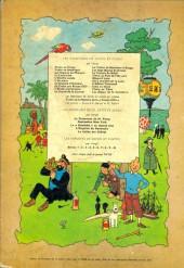 Verso de Tintin (Historique) -12B35- Le trésor de Rackham Le Rouge