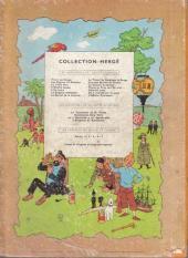Verso de Tintin (Historique) -15B19- Tintin au pays de l'or noir