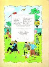 Verso de Tintin (Historique) -16B35bis- Objectif lune
