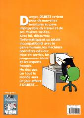 Verso de Dilbert (Albin Michel) -2- Bienvenue dans le monde merveilleux de l'informatique
