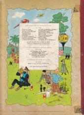 Verso de Tintin (Historique) -18B35- L'affaire Tournesol
