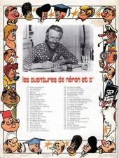 Verso de Néron et Cie (Les Aventures de) (Érasme) -60- La théière du roi