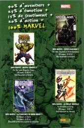 Verso de Marvel Icons (Marvel France - 2005) -68- Un mauvais rêve
